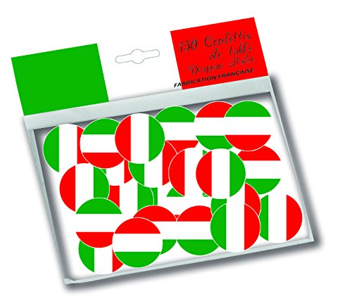 Deco Party UK Italian Flag Confetti 150pcs 1