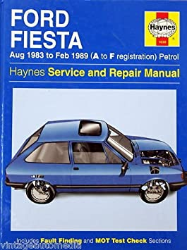 Amazon.com: 1983-1989 Haynes Repair Manual - Ford Fiesta: Everything Else