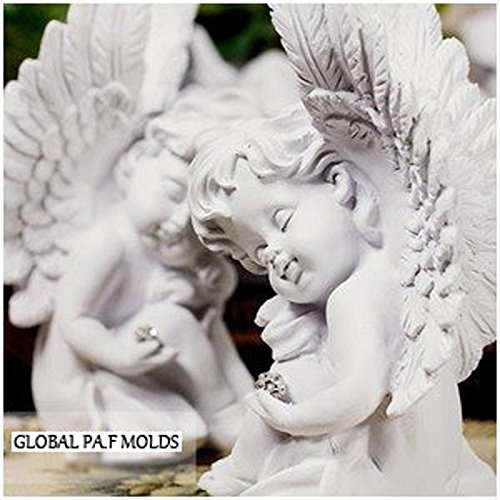 3d Sleeping Cherub Mold 99764 Sugarcraft Molds Polymer Clay Cake Border Mold Soap Molds Resin Candy Chocolate Cake Decorating Tools