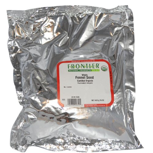 Frontier Natural Products - семена фенхеля всего органического - 1 кг