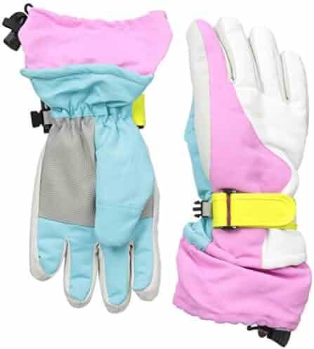 Simplicity Kids 3M Thinsulate Windproof & Waterproof Snow Ski Gloves.