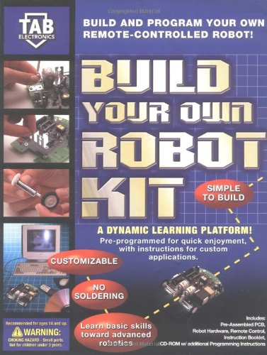 TAB Electronics Build Your Own Robot Kit ()