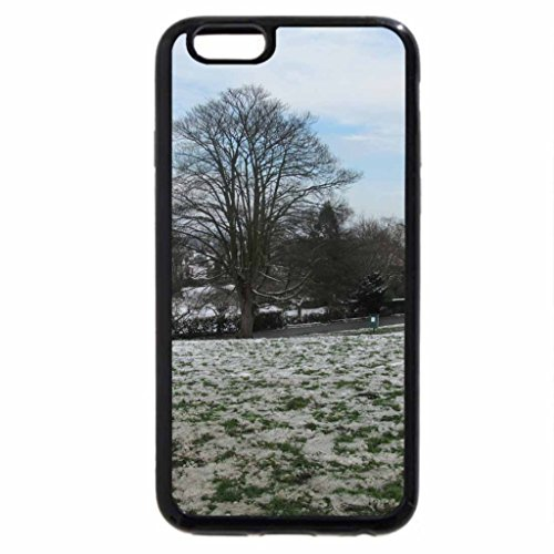 iPhone 6S Case, iPhone 6 Case (Black & White) - Step Into Winter
