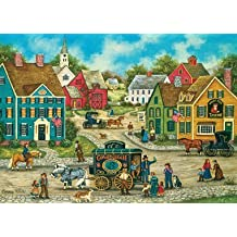 Masterpieces 31563 Bonnie White Glower Gulch Snake Oil Puzzle, 500 Pieces by MasterPieces