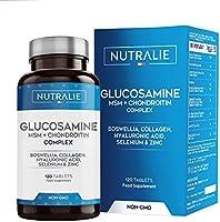 Glucosamine met Chondroïtine, MSM en Collageen   Behoud van Normale Botten met Glucosamine, Chondroïtine, MSM, Collageen,...