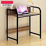 Desktop Computer Desk Assembly Laptop Desk Multifunction Learning Table Modern Simplicity Workbench ( Color : 1# , Size : 84cm )