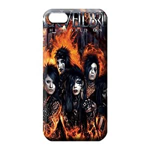 iphone 5 5s case PC fashion cell phone carrying covers black veil brides
