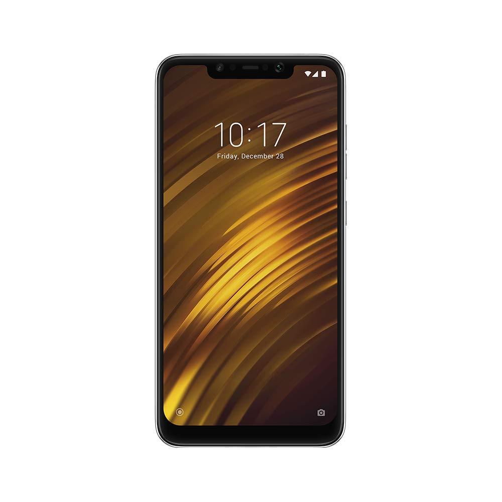 TALLA 64GB. Xiaomi Pocophone F1 4G 64GB Dual-SIM Negro EU [Versión importada]