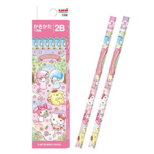 Mitsubishi Pencil pencil Uni writing Hello Kitty 1 dozen K55832B