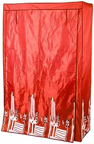 Modulhome 6RAN645RO Housse Polyester Rouge 110 x 46 x 178 cm