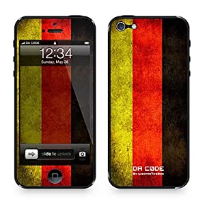 "GHK - Da Code ? Skin for iPhone 5/5S: ""Germany"" (Flags Series)"