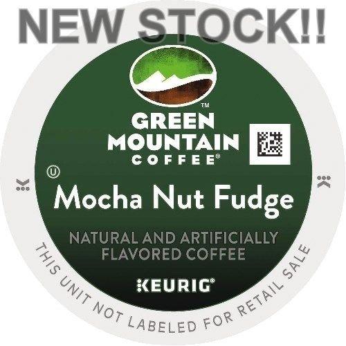 Green Mountain Keurig 1.0 & 2.0 Compatible Kcup MOCHA NUT FUDGE 96 Count - Mocha Nut Fudge