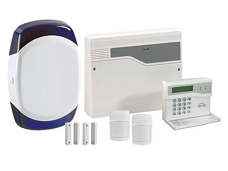 8 Zone Pet Tolerant Wired Alarm System HW8