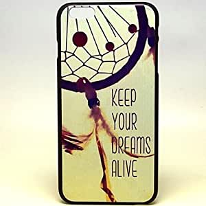 LCJ Feather Wind Chimes Pattern Hard Case Cover for iPhone 6 Plus by ruishername