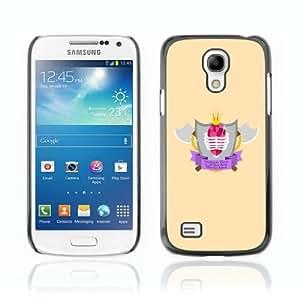 Designer Depo Hard Protection Case for Samsung Galaxy S4 Mini / Cool Axe & Shield Badge