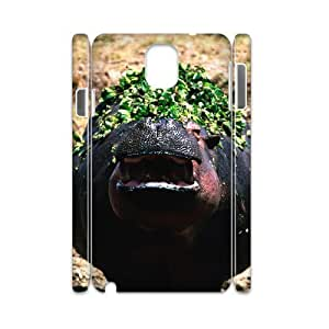 HXYHTY Diy case Hippo customized Hard Plastic case For samsung galaxy note 3 N9000
