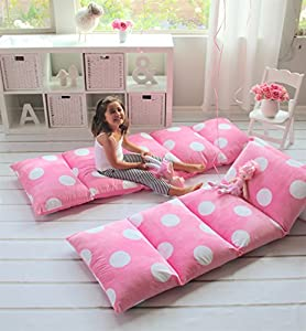Floor Pillow To Watch Tv : Amazon.com: GIRL S FLOOR LOUNGER SEATS COVER AND PILLOW COVER MADE OF SUPER SOFT, LUXURIOUS ...