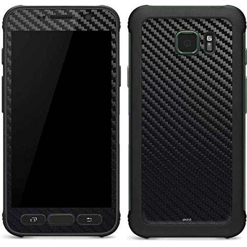 Skinit Carbon Fiber Galaxy S7 Active Skin - Officially Licensed Skinit Originally Designed Phone Decal - Ultra Thin, Lightweight Vinyl Decal Protection