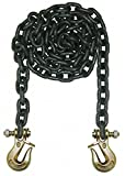 15 ft. Grade 80 Straight Chain, 1/2'' Trade Size, 12,000 lb. Working Load Limit, For Lifting: Yes