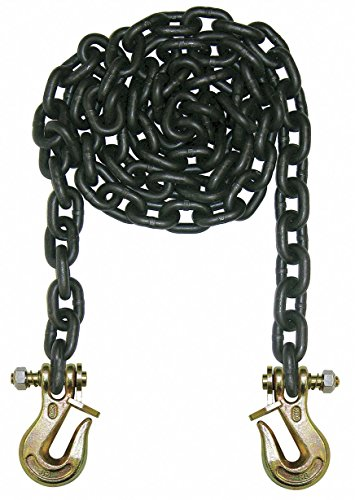15 ft. Grade 80 Straight Chain, 1/2'' Trade Size, 12,000 lb. Working Load Limit, For Lifting: Yes by B/A PRODUCTS CO.