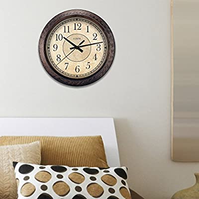 La Crosse Clock 14 in. Analog Wall Clock