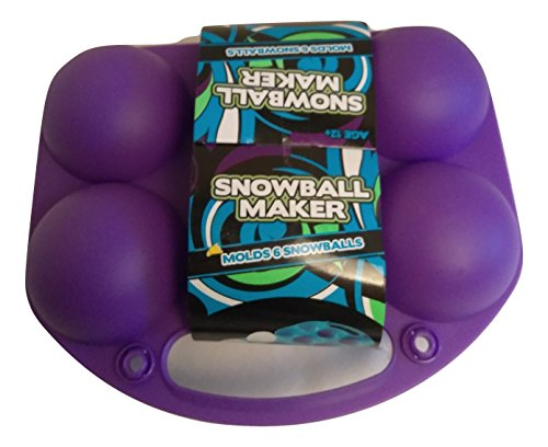 New Best SELLER Snowball Maker Mold Fun for Kids Toddlers Teens Adults Outdoor PURPLE