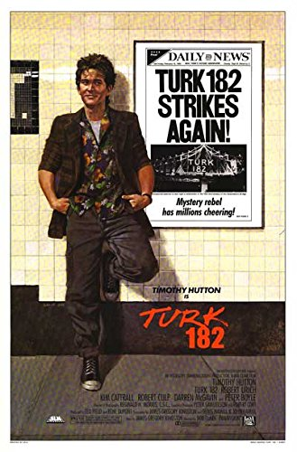 Turk 182   Authentic Original 27  X 41  Movie Poster