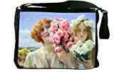 Rikki Knight Lawrence Alma-Tadema A Summer Offering Messenger Bag School Bag