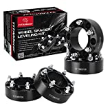 YITAMOTOR Wheel Spacers Toyota, 2nd-gen Forged Hubcentric, 2'' Wheel Adapters 6x5.5/6x139.7 Compatible for Toyota FJ Cruiser Tacoma Isuzu Lexus(12x1.5 Studs& 106mm Bore)