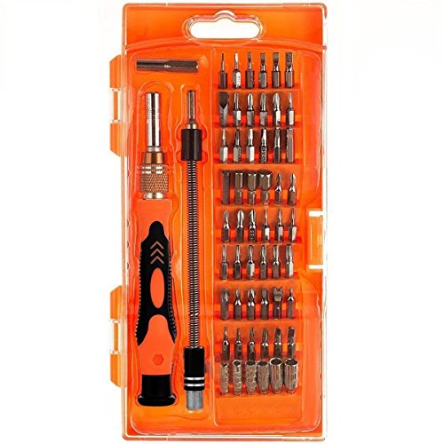 Likorlove 58 IN 1 Multipurpose Repair Tools Kit Screwdrivers, Ideal for Cell phones, Computers, Laptops, MacBook, MacBook Air, MacBook Pro, Shavers and other (One Tool Torque Ball)