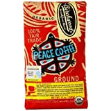Peace Coffee Organic Birchwood Breakfast Blend Medium Roast Ground Coffee 12 oz