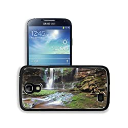 Cove Waterfall Beauty Nature Moss Samsung Galaxy S4 Snap Cover