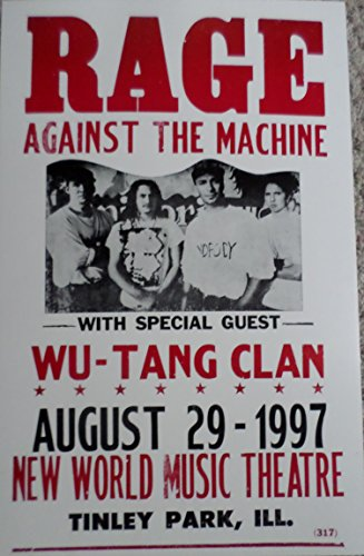Rage Against The Machine Wu Tang - Rage Against The Machine with Special Guest Wu-tang Clan