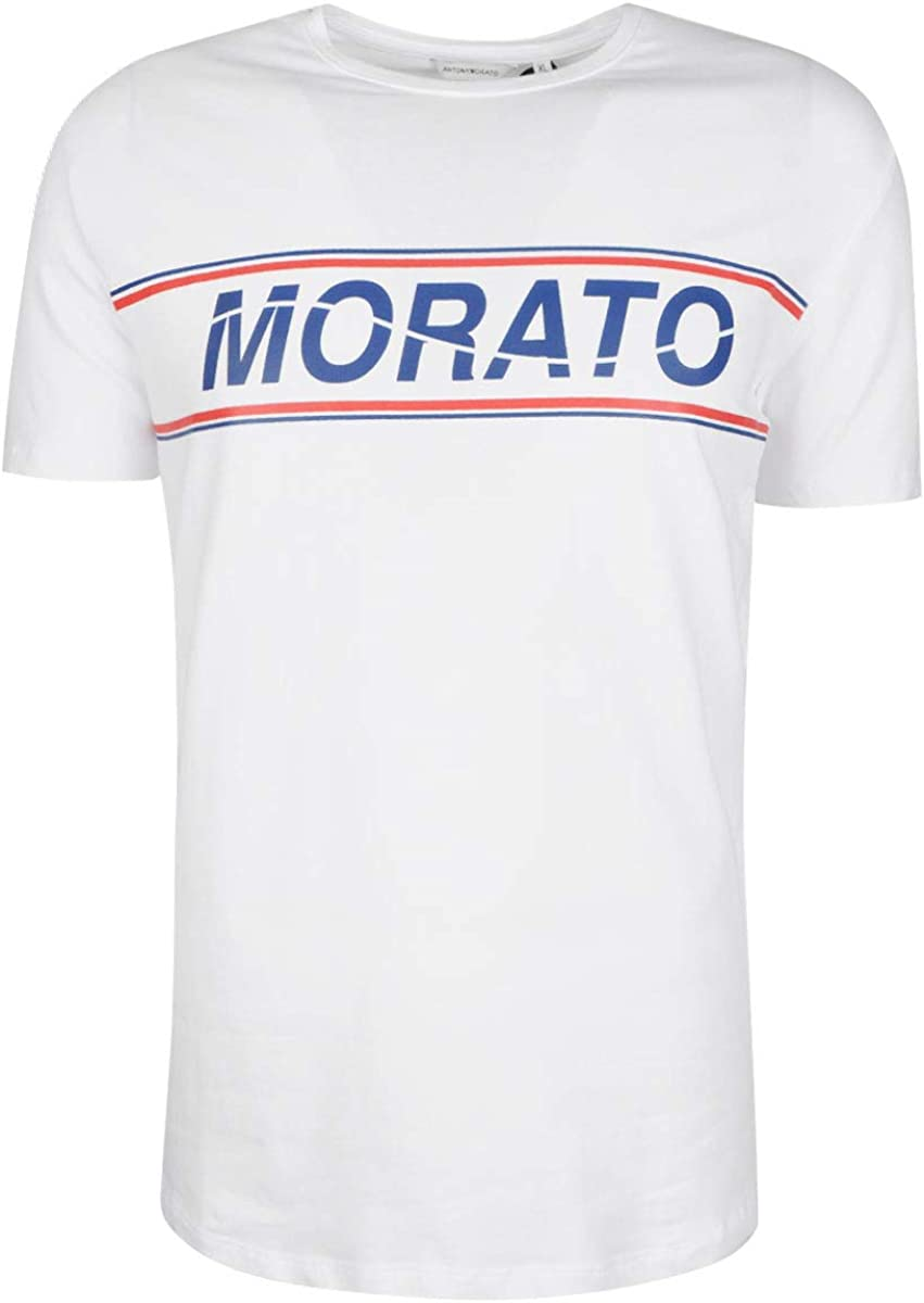 Antony Morato MMKS01469 FA120001 Jersey Hombre Blanco XL: Amazon.es: Ropa y accesorios