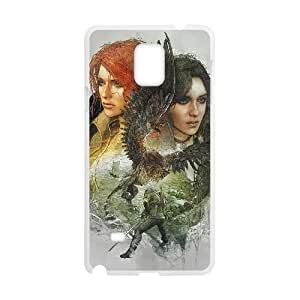 Samsung Galaxy Note 4 Cell Phone Case White The Witcher 3 Wild Hunt review Yennefer BNY_6700439