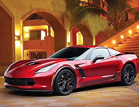 Simply Calendar 2017 Open Wall Calendar, 18.5-Inch x 10.5-Inch, #96- Exotic Cars (Corvette Planner)