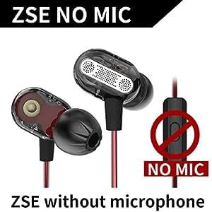 Befaith KZ ZSE Dynamic Dual Driver Auricular In Ear Headset Monitores de audio Auriculares Aislamiento de