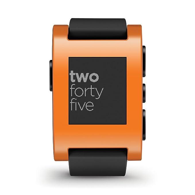 Pebble SmartWatch - Naranja: Amazon.es: Electrónica