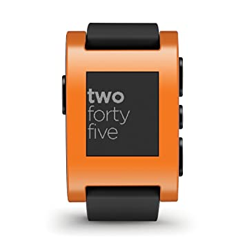Pebble SmartWatch - Naranja: Amazon.es: Electrónica