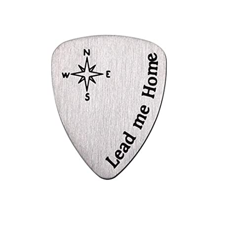 Amazon Metal Guitar Picks Anniversary Gifts For Him Men Birthday Gift Musician Musical Valentines Day Christmas Lead Me