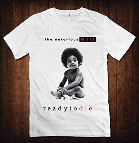 The Notorious B.I.G. Ready To Die T-Shirt, Biggie Smalls Shirt, Men's Women's All Sizes Tee Gift T-Shirt for Men Woman