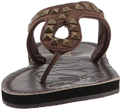Roper Women's ADA Flip-Flop, One Size Brown