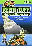 heat lamp bulb turtle - Zoo Med Repti Tuff Splashproof Halogen Lamp 50 Watts