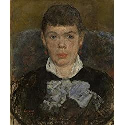 Oil Painting 'James Ensor - Girl With Upturned Nose,1879', 20 x 24 inch / 51 x 61 cm , on High Definition HD canvas prints is for Gifts And Bed Room, Nursery And Study Room Decoration