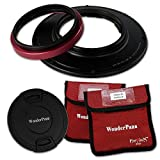 WonderPana FreeArc Core Filter Holder & Lens Cap Only for Olympus 7-14mm f/2.8 M.ZUIKO Digital ED PRO Lens (Micro-4/3 Format)