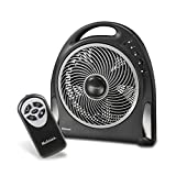 Holmes Blizzard Remote Control Power Fan, 12""