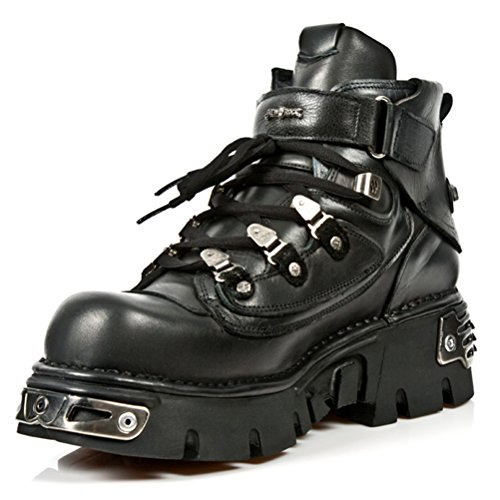 NEWROCK New Rock Stivali Stile M.654 S1 Nero Unisex Reactor