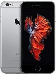 Apple iPhone 6s Space Grey 16GB SIM-Free Smartphone (Renewed)