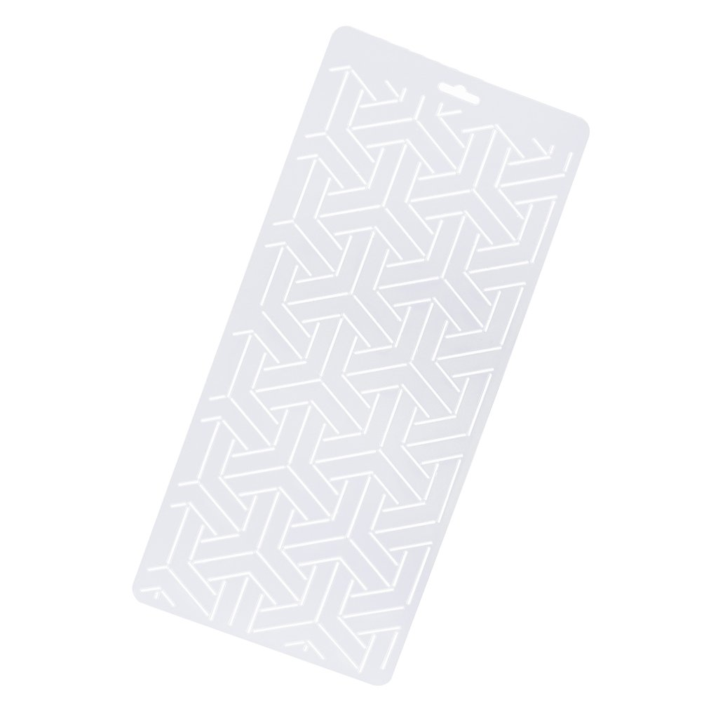 1 Piece Plastic Embroidery Quilting Templates /& Stencils Sewing Patchwork Tools DIY 1#