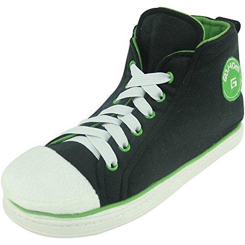 Gohom, Scarpe da tennis uomo Black&Green